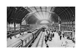 Paddington Station  London  1926-1927