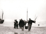 Men on the Shore  Scheveningen  Netherlands  1898