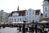 Outdoor Concert in Town Hall Square  Tallin  Estonia  2011
