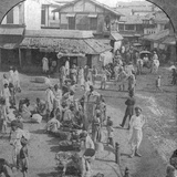 A Market in Ahmedabad  India  1902