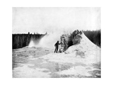 Crater of the Giant Geyser  Yellowstone National Park  USA  1893