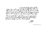 Part of a Letter from John Gay to Dean Swift  C1728