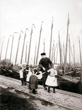 People of Marken Island  Netherlands  1898