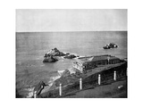 Cliff House and Seal Rocks  Golden Gate  California  USA  1893