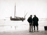 Men on the Shore  Scheveningen  Netherlands  1898