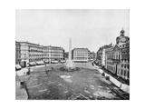 Puerta Del Sol  Madrid  Spain  Late 19th Century