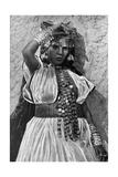 A Dancer in Biskra  Algeria  1922