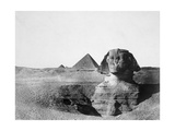 The Great Sphinx and the Pyramids of Giza  Egypt  1852