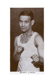 Benny Lynch  Scottish Boxer  1938