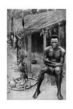 A Witch Doctor  Belgian Congo (Congo Republi)  1922