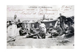 French Foreign Legion  Sidi Bel Abbes  Algeria  1910