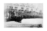 Reception for the Luxembourg Legionnaires  Luxembourg  16 March 1919