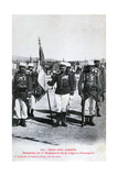 Flag of the 1st Regiment of the French Foreign Legion  Sidi Bel Abbes  Algeria  1933