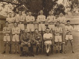 The Battalion Boxing Team of the First Battalion  the Queen's Own Royal West Kent Regiment