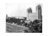New Mormon Temple  Salt Lake City  Utah  Late 19th Century