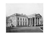 The White House  Washington Dc  Late 19th Century