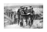 King George V (1865-193) at St George's Hill  Near Fricourt  10th August 1916