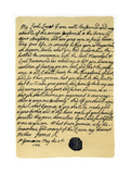 Letter from James Edward Stuart to Simon Fraser  Lord Lovat  St Germains  3rd May 1703