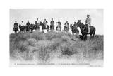 French Foreign Legion Cavalry  Forthassa Gharbia  Algeria  C1905