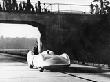 Bernd Rosemeyer Driving an Auto Union  C1937-C1938