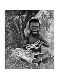 Kiwai Child  Living at the Entrance to the Fly River  New Guinea  1922