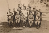 The Battalion Football Team of the First Battalion  the Queen's Own Royal West Kent Regiment