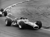 Graham Hill in a Lotus 49  French Grand Prix  Le Mans  1967