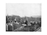 Edinburgh and Scott's Monument  Late 19th Century
