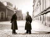 Policemen  Rotterdam  1898