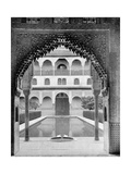 Court of the Myrtles  Alhambra  Spain  1893