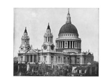 St Paul's Cathedral  London  Late 19th Century