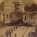 Funeral Procession of the Late Rt Hon Cecil Rhodes  1902