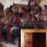 Execution of Jean Desmartes  1383