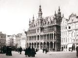 Market Square  Brussels  1898