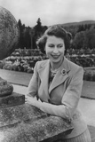 Queen Elizabeth II at Balmoral  28th September 1952