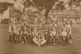 The Battalion Hockey Team of the First Battalion  the Queen's Own Royal West Kent Regiment