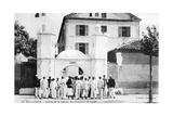 Barracks of the Recruits  French Foreign Legion  Sidi Bel Abbes  Algeria  14 July 1906