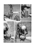 The Making of a Pot  Mendi  Papua New Guinea  1922