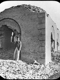 The Ruins of the Mahdi's Tomb in Omdurman  Sudan  C1898