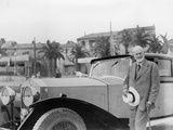 Sir Henry Royce  with Rolls-Royce Car