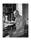 Sir William Schwenck Gilbert (1836-191)  English Playwright and Humorist  1911-1912