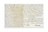 Letter from Robert Clive to Thomas Pelham-Holles  23rd February 1757