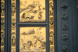 The Gates of Paradise  Baptistry  Florence  Italy  1425-1452