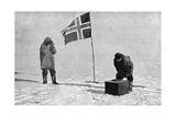 Roald Engelbrecht Gravning Amundsen (1872-192)  Norwegian Explorer  at the South Pole  1911