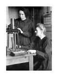 Marie Curie  Polish-Born French Physicist and Her Daughter Irene  1925