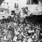 The Holy Carpet Parade with the Mahmal  Cairo  Egypt  1905