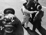 Giuseppe Farina and Alfa Romeo 159  French Grand Prix  Rheims  1951