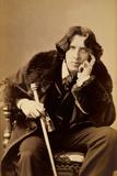 Oscar Wiide  Irish Writer  Wit and Playwright  1882