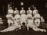 Hospital Orderlies of the 1st Royal Munster Fusiliers  Rangoon  Burma  1913