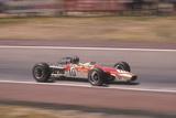 Graham Hill's Lotus at Speed  Spanish Grand Prix  Jarama  Madrid  1968